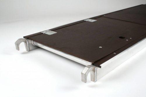 Platform met luik rolsteiger